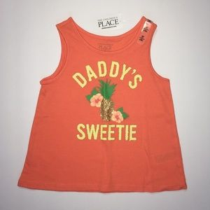 NWT C.Place 4T Daddy pineapple tank top